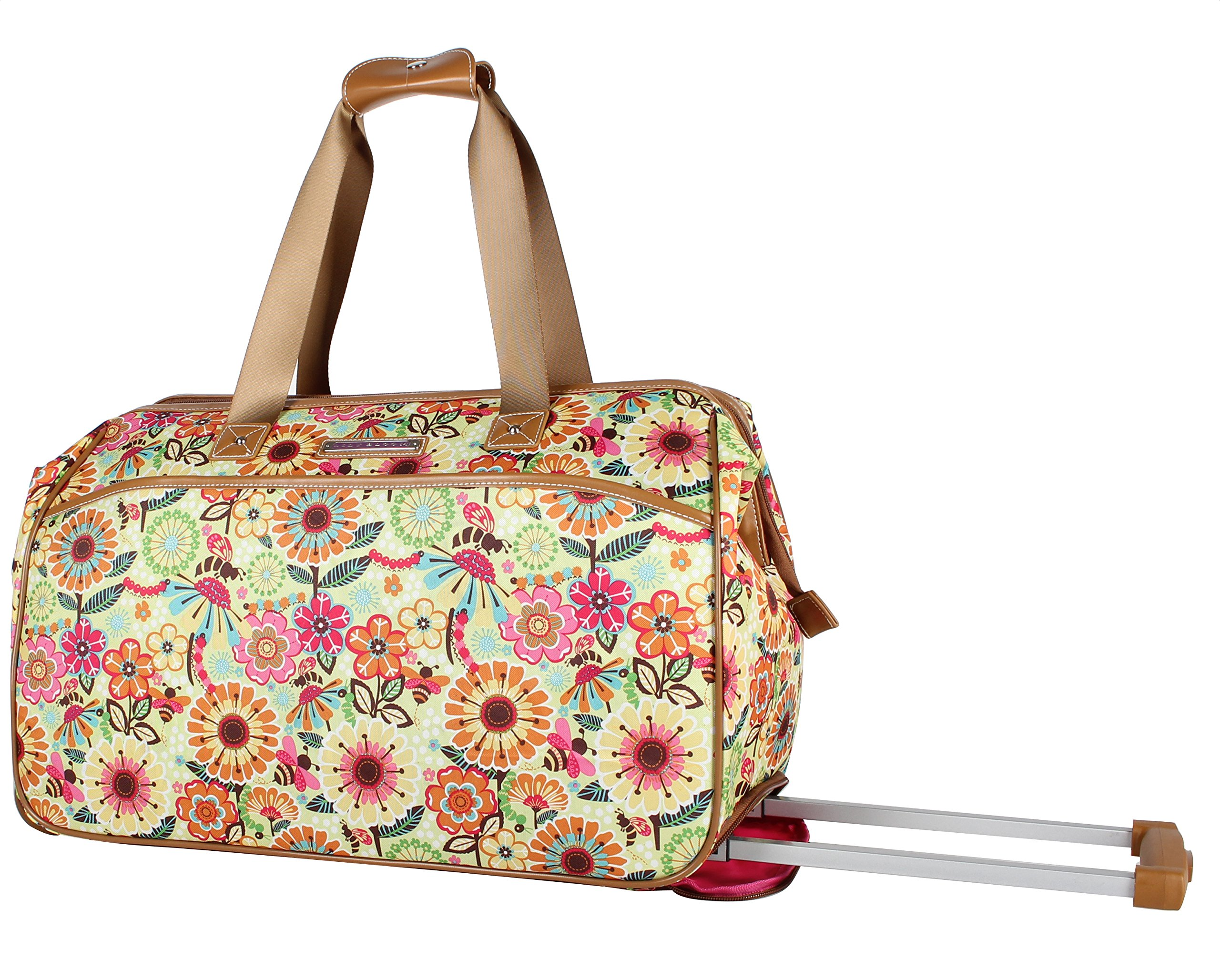 Thirty One Wheels-Up Roller in Fab Flourish 8963