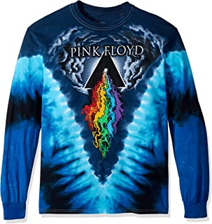 Liquid Blue Men's Pink Floyd Prism River Long Sleeve T-Shirt