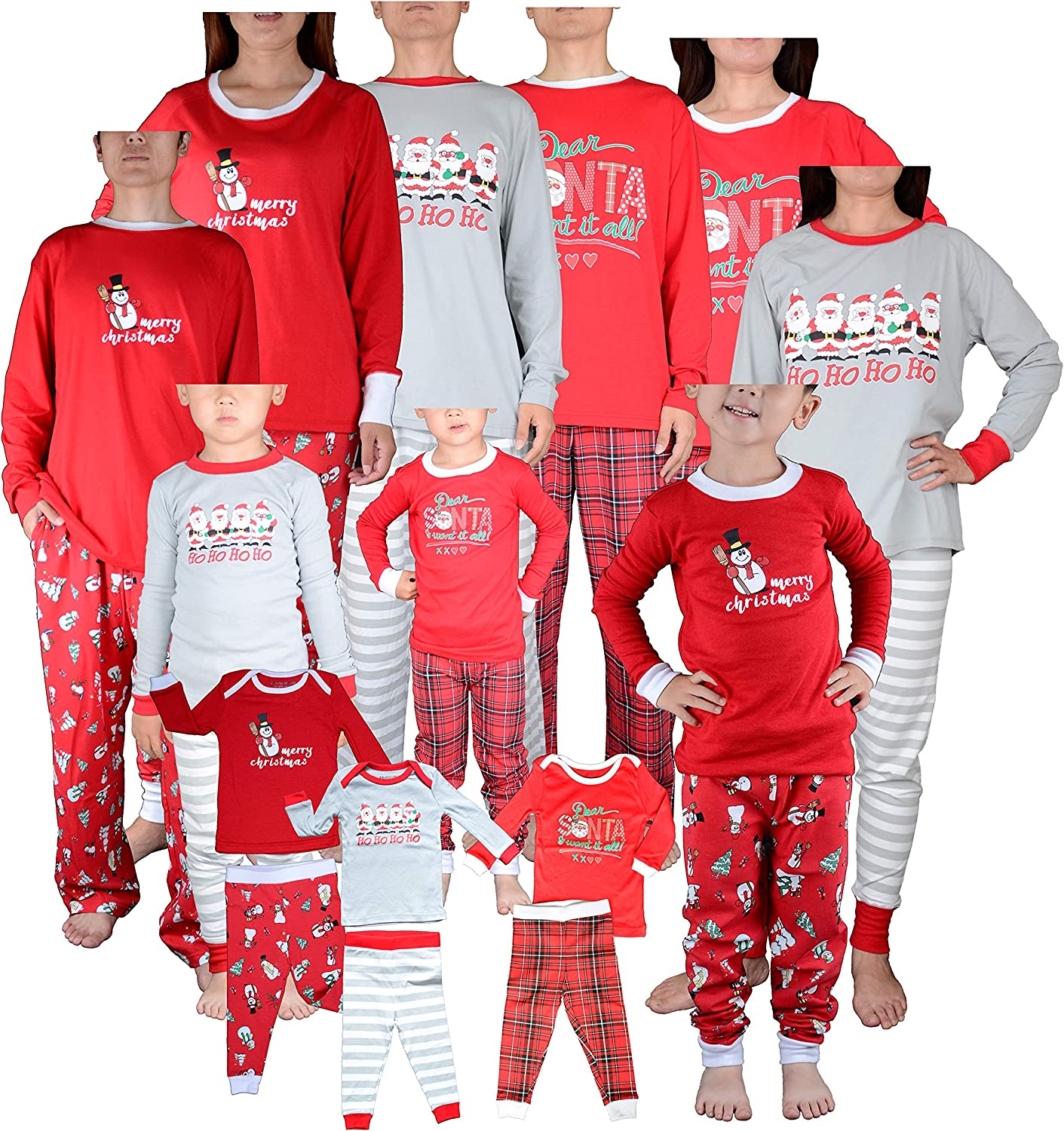 Christmas Family Free shipping anywhere in the nation Matching Pajama Pajamas M free Sets