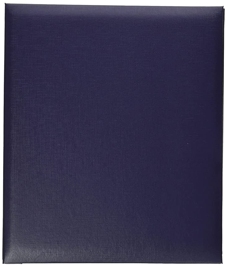 Pioneer MB811-60146 Leatherette Post Bound Album, 8.5 x 11, Bay Blue