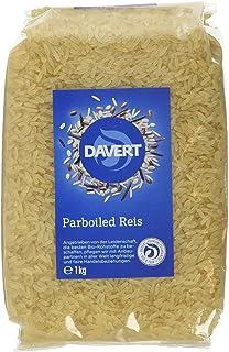 Davert Parboiled Reis Langkorn weiß, 2er Pack 2 x 1 kg - Bio