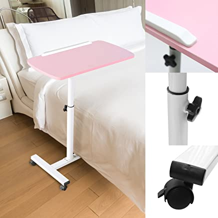 Kurtzy Laptop Study Table Adjustable Height Portable Foldable Detachable Space Saving Multipurpose Desk for Kids and Adults