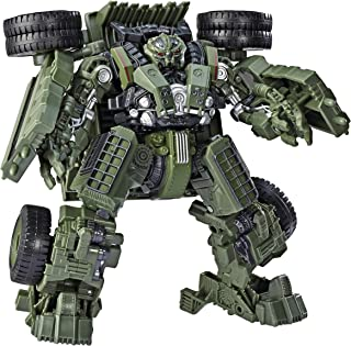 """Transformers Toys Studio Series 42 Voyager Class Revenge of The Fallen Movie Constructicon Long Haul Action Figure - Ages 8 & Up, 6.5"""""""