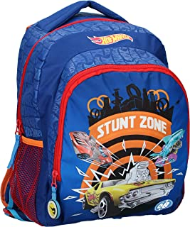 Stunt Zone - Mochila infantil, color azul