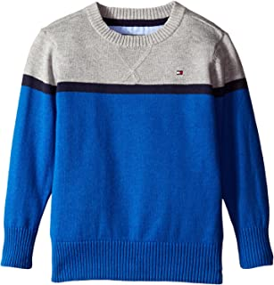 2fec5f503491 Tommy Hilfiger Toddler Boys  Long Sleeve Alan Crew Neck Sweater