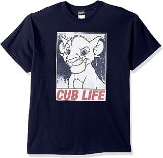 Disney Men's Lion King Simba Cub Life Graphic T-Shirt