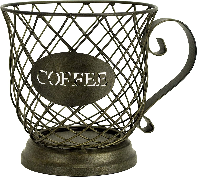 Boston Warehouse Ranking TOP20 Coffee Mug Storage Basket Keeper Kup New sales
