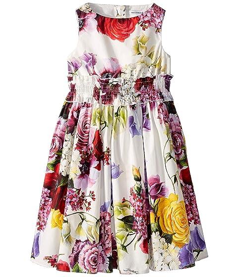 Dolce & Gabbana Kids Floral Dress (Toddler/Little Kids)
