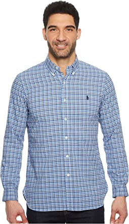 Poplin Long Sleeve Sport Shirt