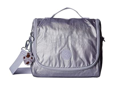 Kipling Kichirou Lunch Bag (Frosted Lilac Metallic) Cross Body Handbags