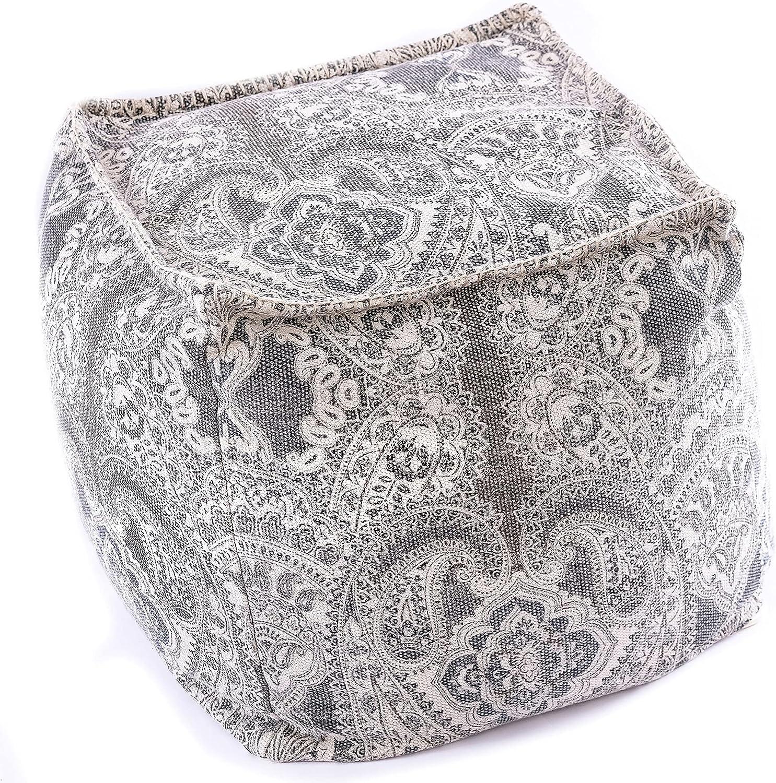 Mandala Life ART Virginia Beach Mall Bohemian Pouf –Luxur Cube inches Sale Cover- 20
