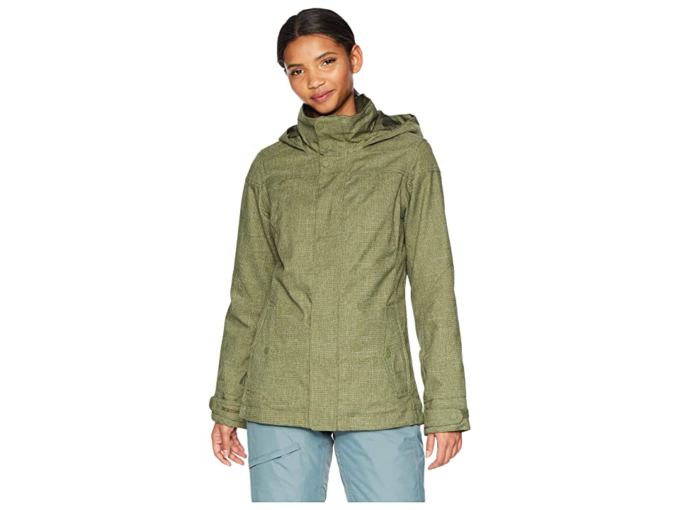Burton Jet Set Jacket (Clover) Women