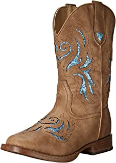 ROPER Kids' Glitter Breeze Western Boot
