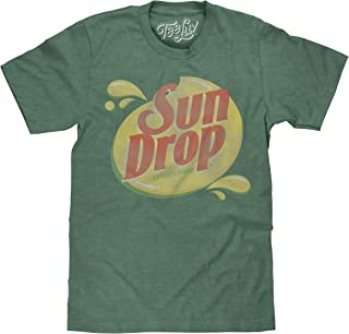 Sun Drop T-Shirt - Distressed Sundrop Citrus Soda Shirt