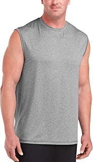 Amazon Essentials Men's Big & Tall Tech Stretch Muscle Shirt fit by DXL