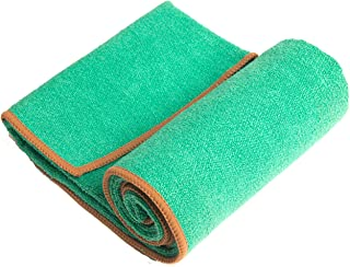 YogaRat Hand Towel - 100% Microfiber Hand Towels - Place Beside Your Mat During Practice - Wipe Sweat From Face and Hands ...