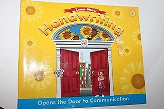 Zaner-Bloser Handwriting: Opens the Door To Communication, Level 1