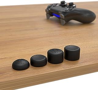 innoGadget Accessori compatibili con Il Controller PS4 | Set di 8 Tappi in Silicone per Pollice | Proteggere Gli Stick ana...