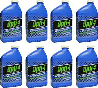 Opti-4 43121 SAE 10W30 34Oz 4-Cycle Engine Lubricant, 8-Pack