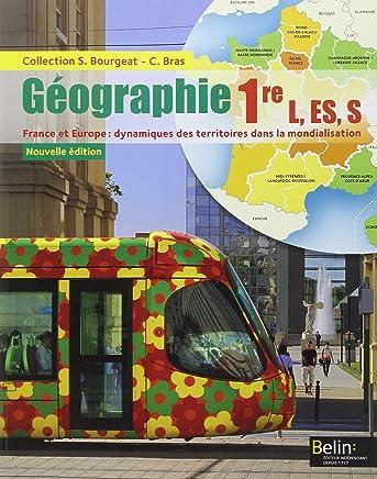Géographie 1re L, ES, S : Livre de lélève