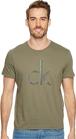 Calvin Klein Jeans - Shadow CK Logo Crew Neck Tee