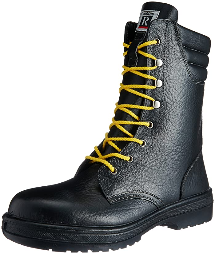 感謝している自分を引き上げる尾[ミドリ安全] 静電安全靴 JIS規格 長編上靴 ラバーテック RT930 静電 メンズ