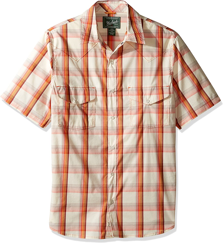 Woolrich Men's Desert View Modern Fit Shirt