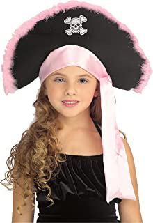 Rubie's Costume Co - Girls Pirate Hat In Pink Child