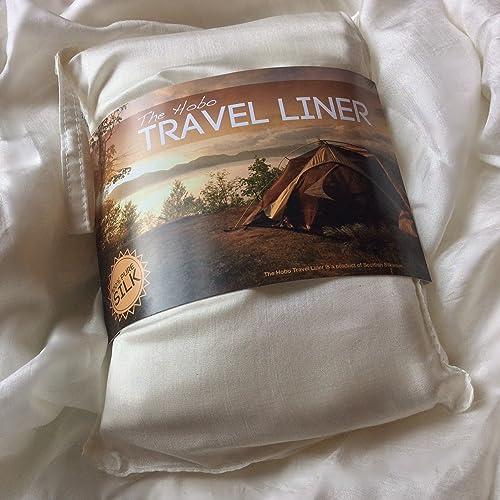 Hobo Pure Silk Sleeping Bag Liner (Not part of Hobo International)