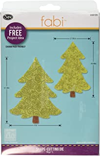 Christmas Tree #2 by Beth Reames Multicolor Sizzix 657370 Bigz Die with Bonus Textured Impressions