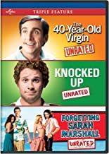 The 40-Year-Old Virgin / Knocked Up / Forgetting Sarah Marshall Triple Feature