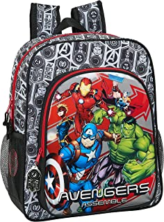612079640 Mochila Junior Niña Adaptable Carro Avengers, Multicolor