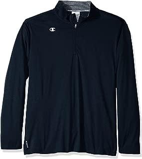 Men's Double Dry Quarter Zip Pullover