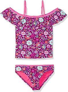 fdbbb4ce6f Angel Beach Big Girls Off The Shoulder Floral Print Tankini Swim Set