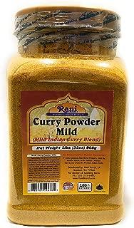 Rani Curry Powder Mild Natural 10-Spice Blend 2lb (32oz) Bulk ~ Salt Free | Vegan | No Colors | Gluten Free Ingredients | NON-GMO