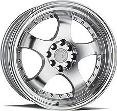AodHan DS-07 Wheel 18x8.5 Wheel Size; 5x114.3 Lug Pattern; 73.1mm Hug Bore; 35mm Off Set. Silver w//Machined Face
