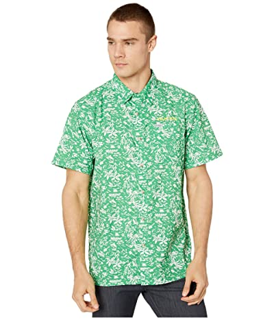 Columbia College Oregon Ducks CLG Super Slack Tide Shirt (Fuse Green) Men