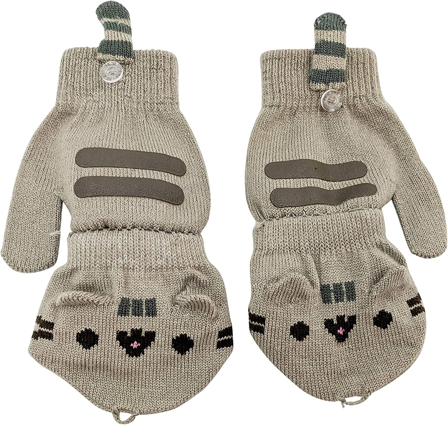 All items in the store outlet Pusheen Cat Face Paws Convertible Fingerless Mi Women's