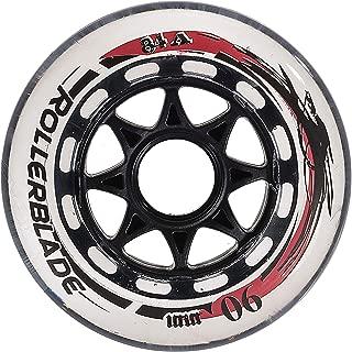 rollerblade wheels 90mm 84a