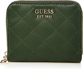 GUESS Miriam Small Zip Around Wallet, Forest