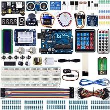 Miuzei Starter Kit für Arduino R3 Projekte mit Mikrocontroller, LCD1602 Modul,..
