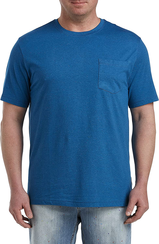 Harbor Bay by DXL Big and Tall Pocket T-Shirt