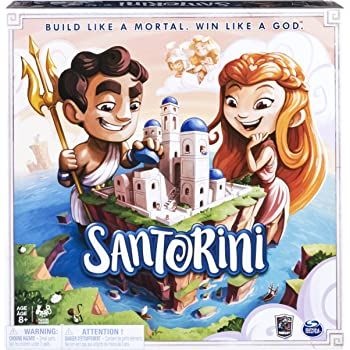 Spin Master Games 6040699 Santorini Strategy-based Board Game, Multicolour