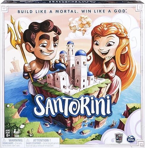 la mejor selección de Spin Spin Spin Master Santorini Build Like a Mortal Win Like a God Strategy-Based Board Game 6039848  ¡no ser extrañado!