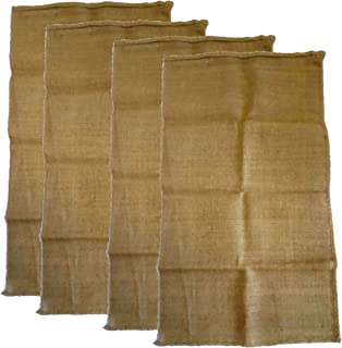 AAYU Premium Large Burlap sack Bags | 8 Piece Set | 24 x 40 inch | New Coffee Bag | Potato Bag | Sack Race | Seed Preserve Sack | Eco-friendly, Natural Jute Product | 10 Ounce Burlap Fabric