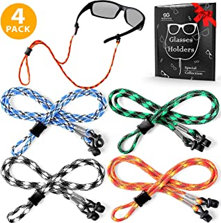 Eye Glasses String Holder Straps - Eyeglass Holders around Neck for Men Women - Sunglasses Strap Lanyards Chains - Eyewear Retainer Cord
