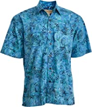 Johari West Antigua Summer Tropical Hawaiian Batik Shirt