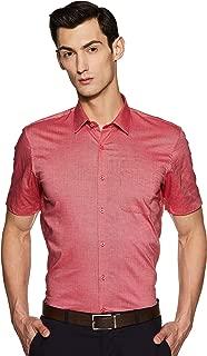 Peter England Men's Solid Regular fit Formal Shirt