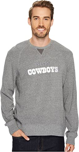 Tommy Bahama Dallas Cowboys NFL Stitch of Liberty Crew Sweatshirt