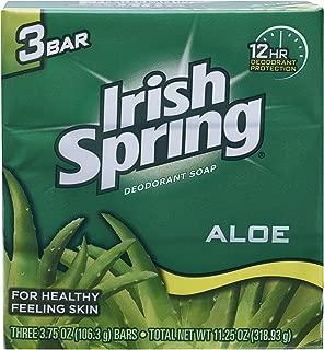 Irish Spring Irish Spring Aloe Deodorant Soap Bar, 3 Ea, 3count